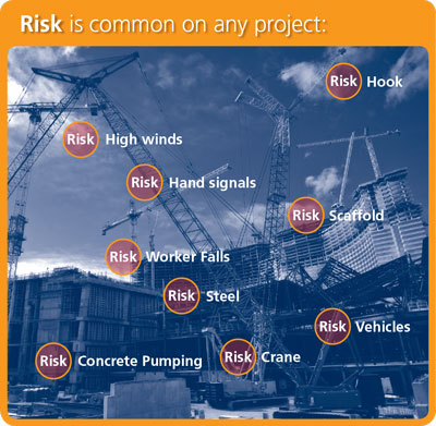 Risk is common on any project